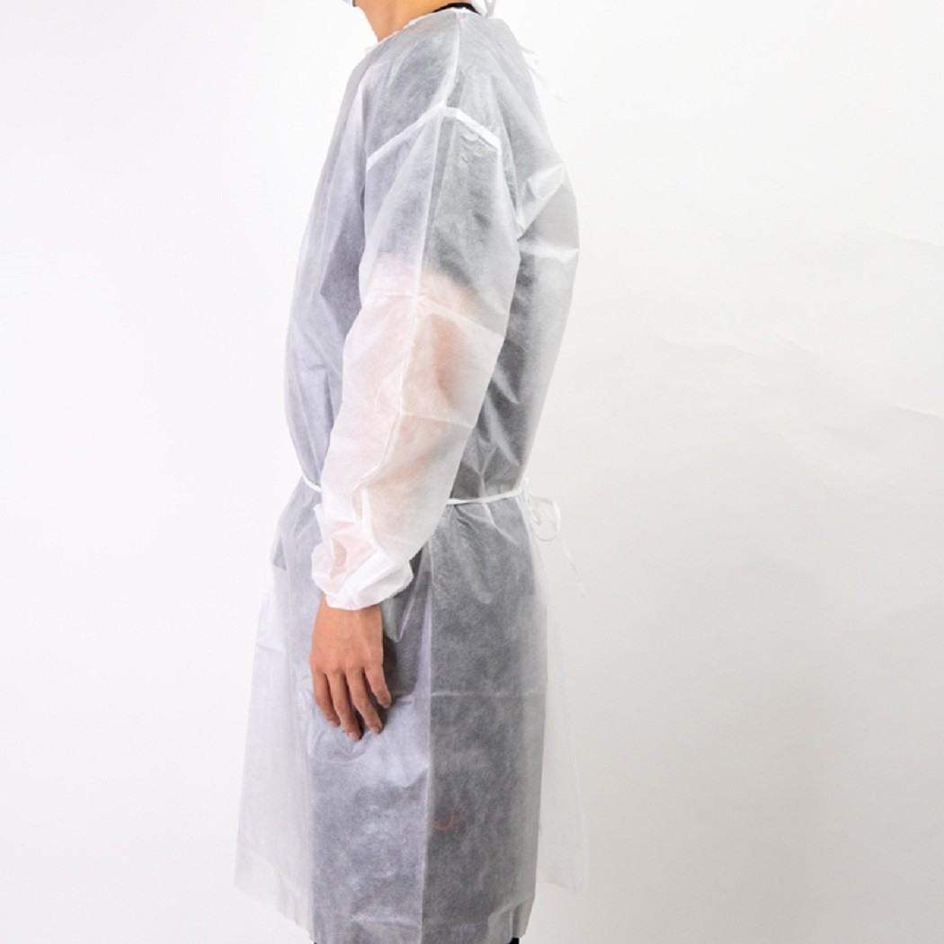 Safety work clothes for construct isolation disposable gown disposable coveralls