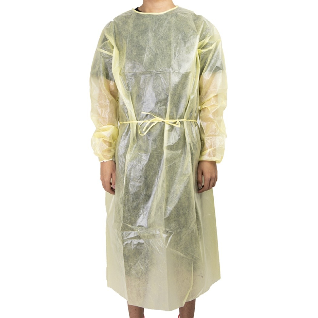 Supply cheap price disposable Isolated Clothing isolation gown