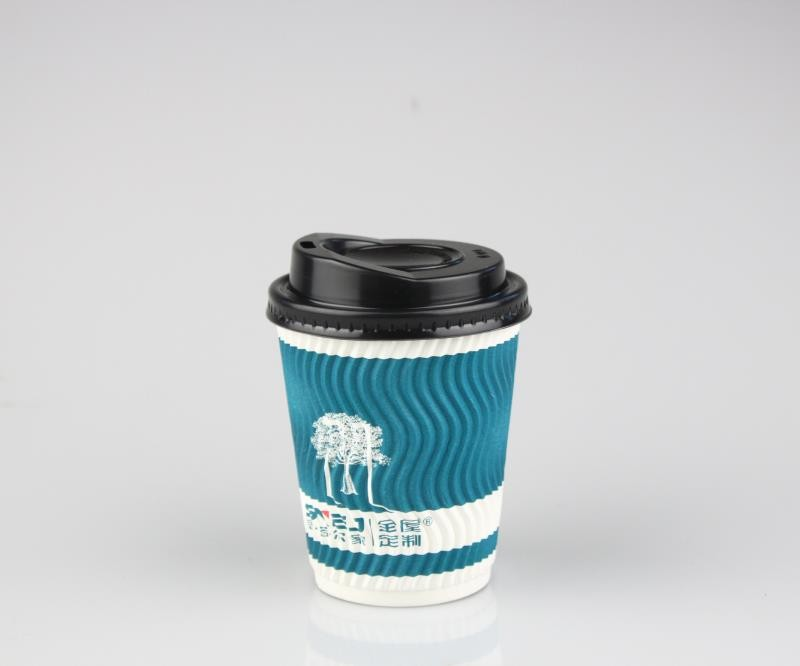 Factory Customized Brand Eco-Friendly Single-Wall Hot Drink Coffee Paper Cup