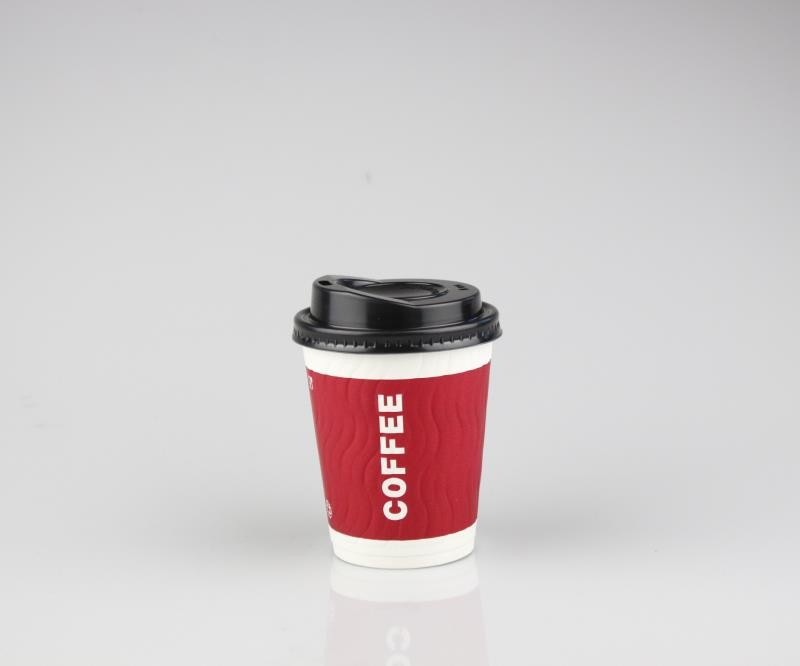 Tingxing Factory Customized Eco-Friendly Single-Wall Hot Drink Coffee Paper Cup