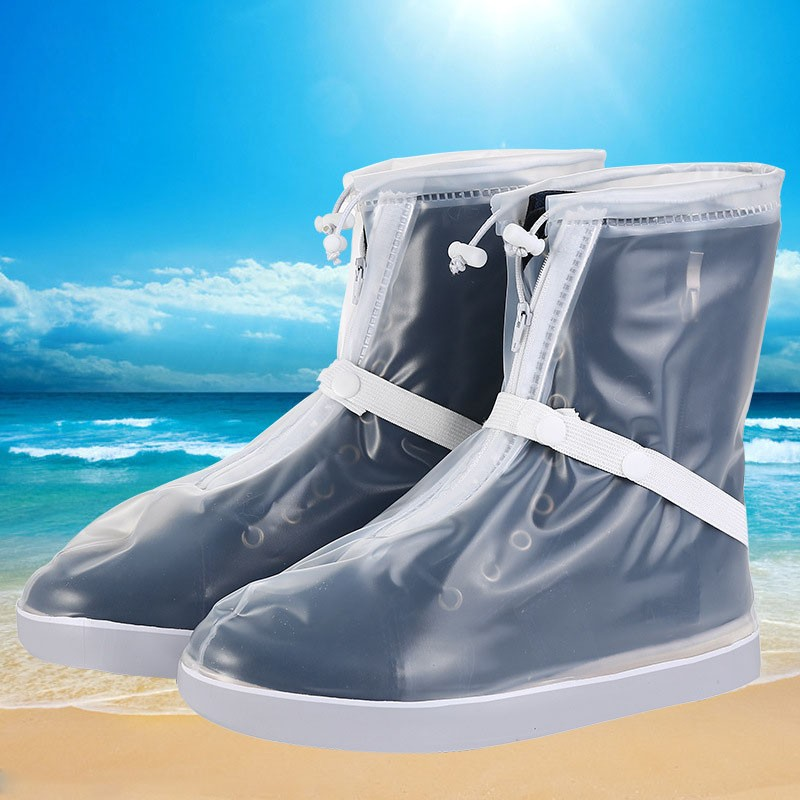 New design fashion PVC waterproof rain boot shoes cover
