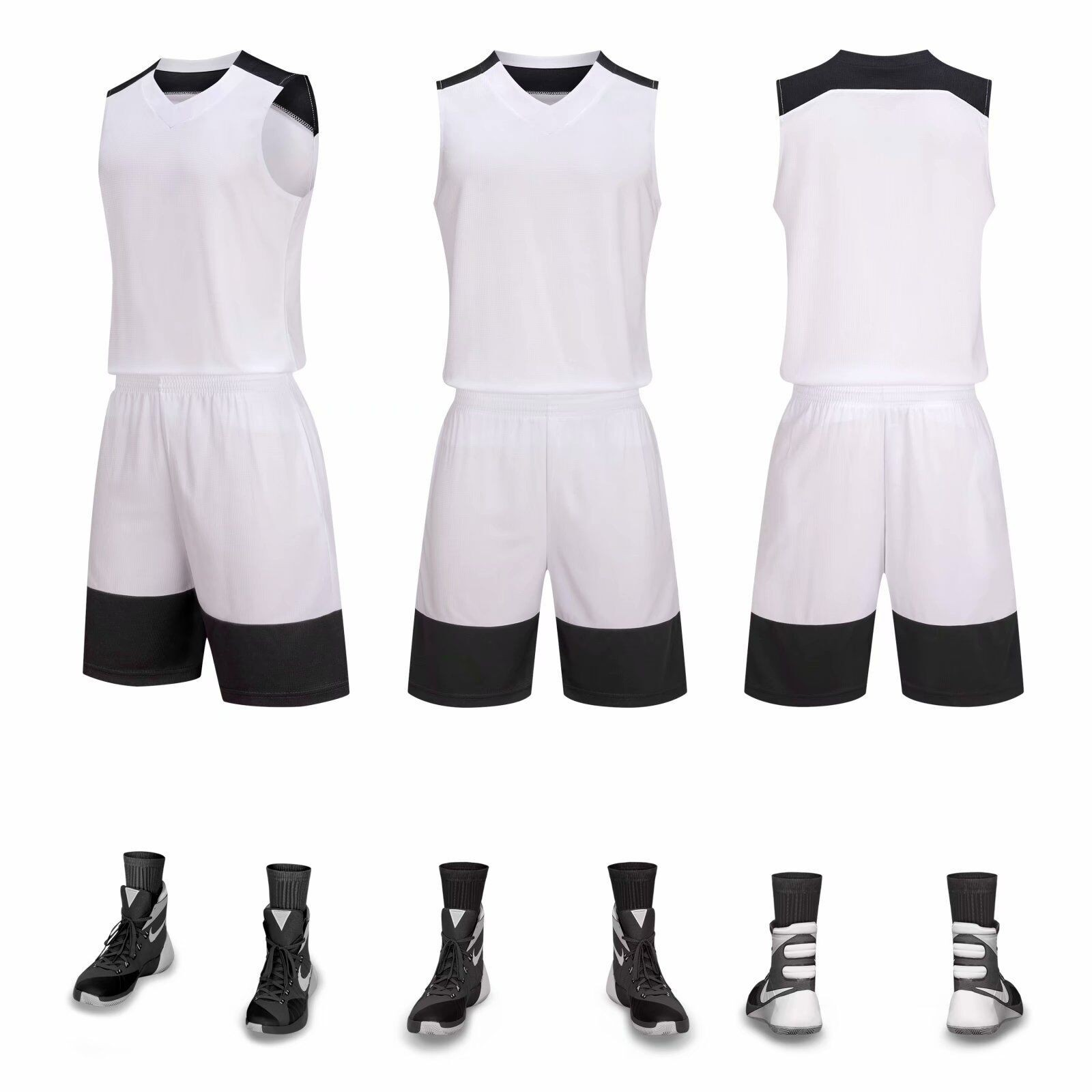 Wholesale Blank Basketball Jerseys for Printing Sublimation team wear uniforms